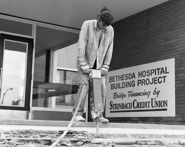 Bethesda Hospital expansion 1986
