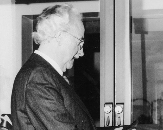 Steinbach Mayor Ernie Firesen 1987