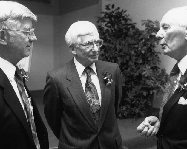 Drs. Paul Peters, John Choate and Karl Krueger 1995