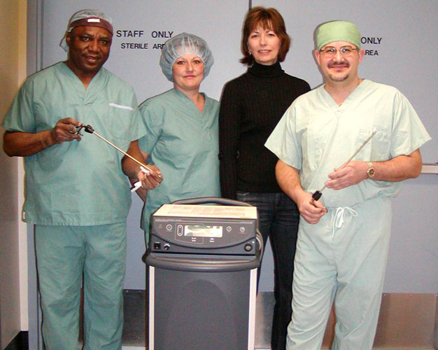 Bethesda Hospital surgery and obstetrics equipment and training 2006