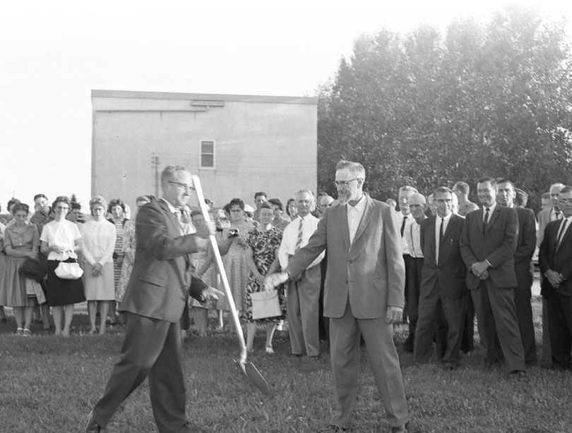 Bethesda Hospital sod turning ceremony August 19 1963